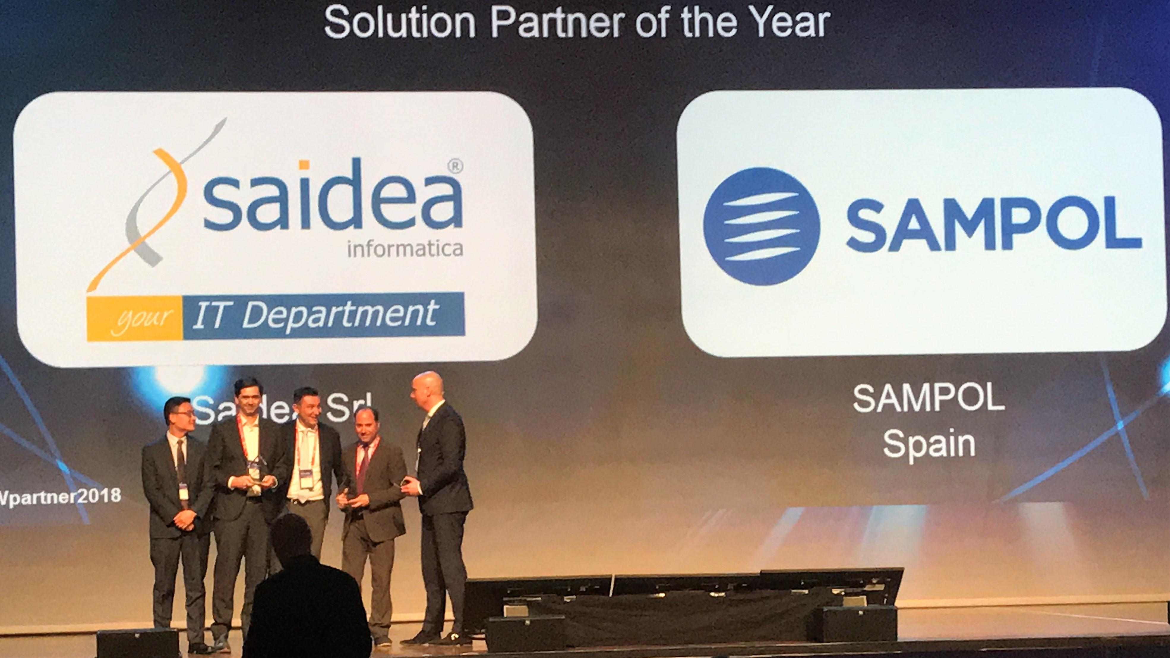 "SAMPOL, elegido ""Solution Partner of the Year"" en el HUAWEI"