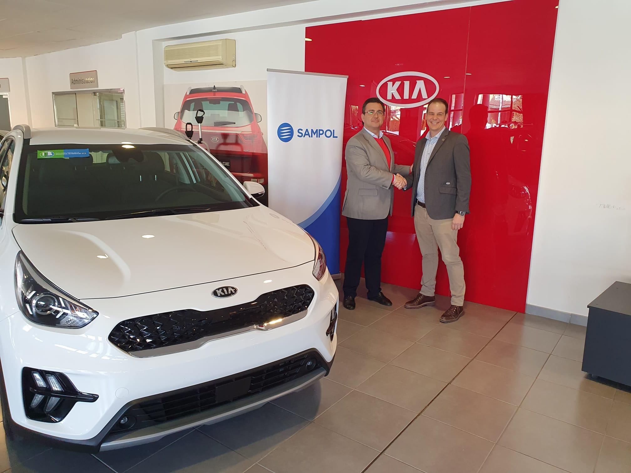 Frau Automóviles KIA y SAMPOL ENERGÍA firman un acuerdo de colaboración