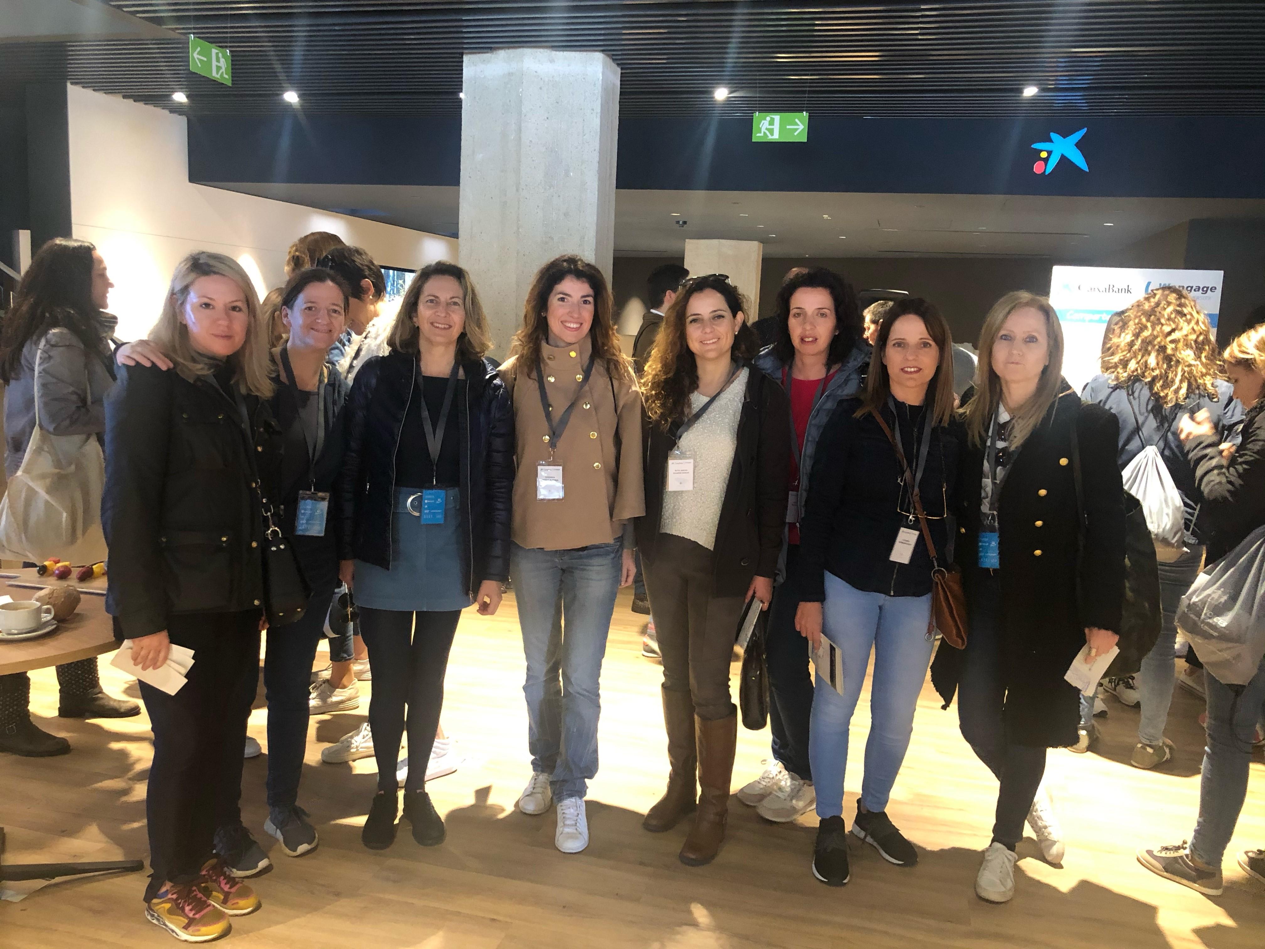 (Español) Grupo Sampol participa en la primera caminata de 'mentoring' en Palma con motivo del Día Internacional de la Mujer