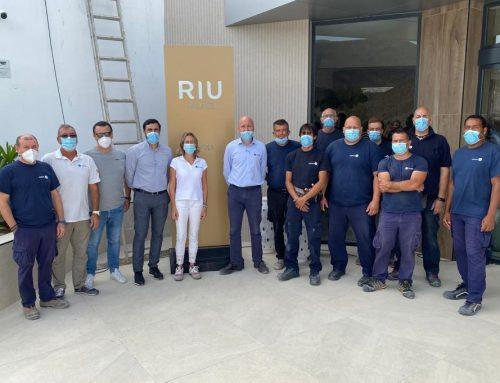 SAMPOL entrega la reforma de las instalaciones del hotel RIU Palace Jandia
