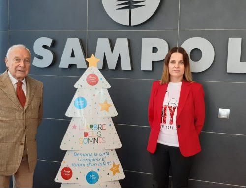 SAMPOL se une a la iniciativa El Árbol de los Sueños para lograr que 25.000 niños en situación de pobreza tengan el regalo de Navidad que desean