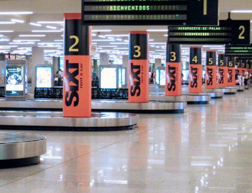 SAMPOL remodela la sala de llegadas del aeropuerto de Palma