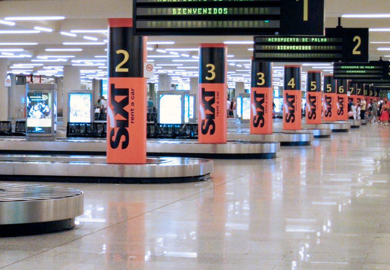 Sala llegadas aeropuerto Palma_copyright SIXT
