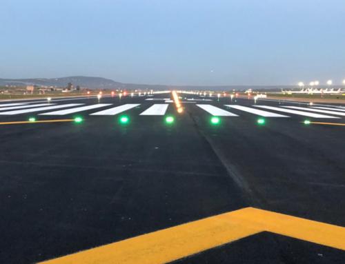 SAMPOL ilumina con tecnología LED la pista norte del aeropuerto de Palma y contribuye a una mayor sostenibilidad