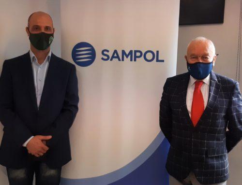 SAMPOL firma un acuerdo de colaboración con el Centro Integrado de Formación Profesional Pau Casesnoves