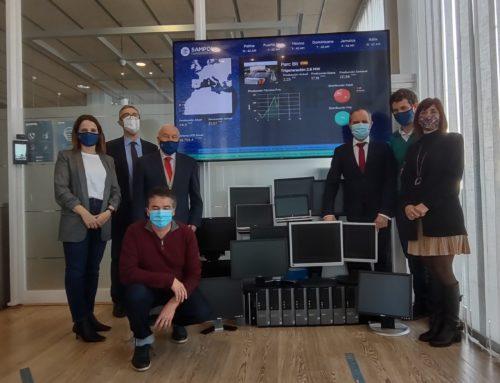 (Español) Grupo SAMPOL, a través del programa ReUtilízame de CaixaBank dona equipos informáticos a la Fundación Natzaret