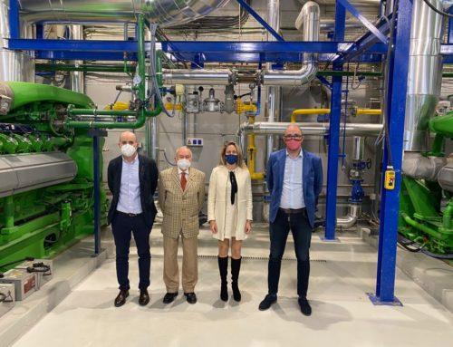 (Español) El Director General de Energía y Cambio Climático Pep Malagrava visita la planta de alta eficiencia energética de Grupo SAMPOL en Parc Bit