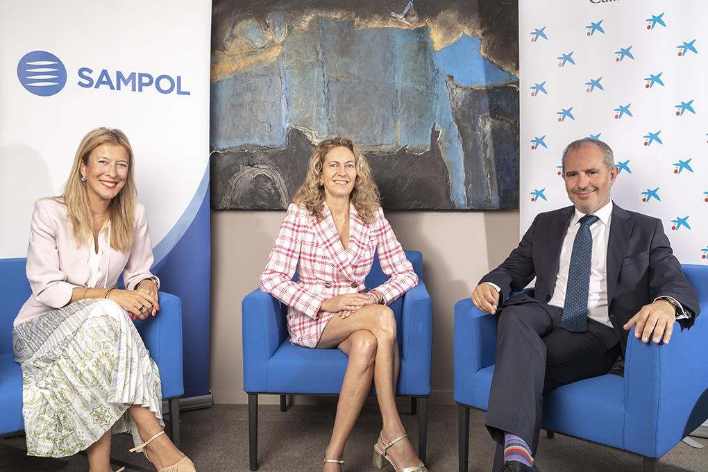 Carmen Sampol, CEO de Grupo SAMPOL ganadora en la fase territorial de los Premios Mujer Empresaria CaixaBank 2021 en Baleares
